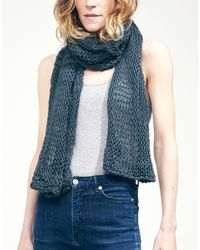 Wool And The Gang | Gray Lacey Sissi Scarf | Lyst