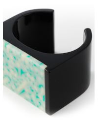 Stella McCartney | Blue 'Mixed Stones Plexi' Bangle | Lyst