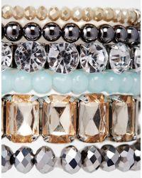 ALDO Metallic Morewiel Stretch Multipack Bracelet