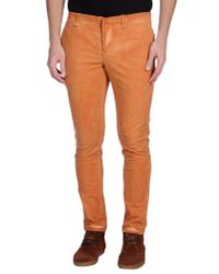 Dondup | Orange Casual Trouser for Men | Lyst