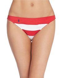 Polo Ralph Lauren - Multicolor Flag Hipster Bikini Bottom - Lyst