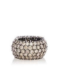 Sidney Garber - Brown Diamond Flexible Ring - Lyst