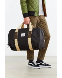 Poler Black Duffaluffagus Duffel Bag for men