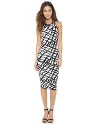 Ronny Kobo Esha Dress - Black/white