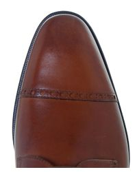 Stemar - Brown Perugia Leather Derby Shoes for Men - Lyst