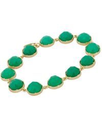 Irene Neuwirth - Green Gemstone Bracelet - Lyst