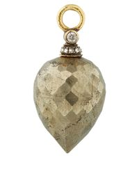 Annoushka Metallic Gold Pyrite And Diamond Alchemy Earring Drops