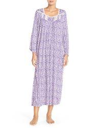 Eileen West - Purple 'mara' Modal Nightgown - Lyst