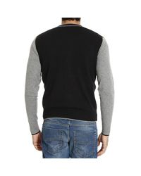 Armani Jeans | Black Sweater for Men | Lyst
