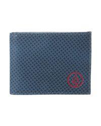 Volcom - Blue Corps Wallet for Men - Lyst