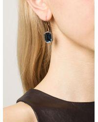 Rebecca | Blue 'Elizabeth' Earrings | Lyst