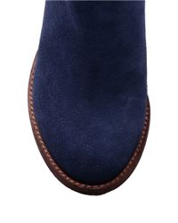 Splendid | Blue Addie Suede Ankle Boots | Lyst