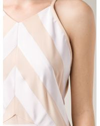 KENZO | Natural Striped Dress | Lyst