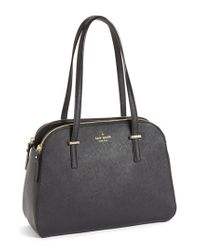 kate spade new york | Black 'small Elissa' Tote | Lyst