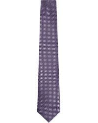 Canali | Jacquard Dots Silk Tie, Men's, Purple for Men | Lyst