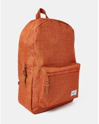 Herschel Supply Co. - Supply Co. Settlement Backpack - Orange for Men - Lyst
