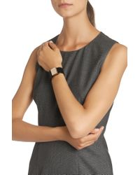 BOSS Black Leather Bracelet: 'romi Bracelet'