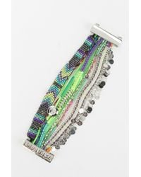 Urban Outfitters - Green Hipanema Alesia Bracelet - Lyst