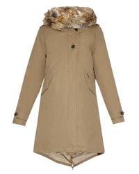 Woolrich Natural Literary Eskimo Fox Fur-Lined Parka