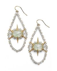 Alexis Bittar | Metallic Crystal Spike Drop Earrings | Lyst
