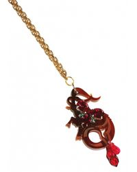 Matthew Williamson | Metallic Capricorn Pendant Necklace | Lyst