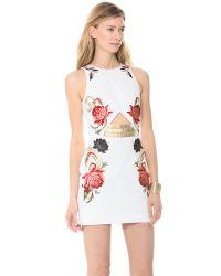 Sass & Bide Red Arm Yourself Dress
