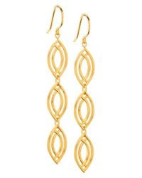 Gorjana - Metallic 'mesa' Drop Earrings - Lyst