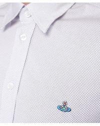 Vivienne Westwood - White Polka Dot Shirt for Men - Lyst