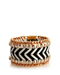 Henri Bendel | Black Deluxe Girlfriend Graphic Bracelet | Lyst