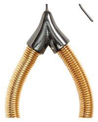 H&M | Metallic Metal Earrings | Lyst