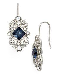 Lauren by Ralph Lauren Blue 'deco' Drop Earrings