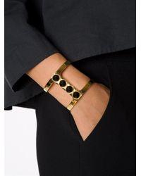 Lizzie Fortunato | Metallic 'pebble' Bracelet | Lyst