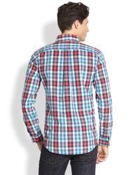 Jack Spade - Blue Avery Gingham Sportshirt for Men - Lyst