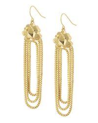 CC SKYE - Metallic Goldie Dangle Earrings - Lyst