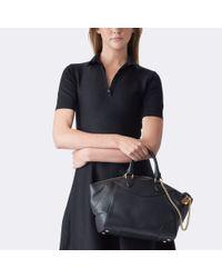 Ralph Lauren | Black Small Bedford Calfskin Bag | Lyst