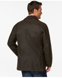 Barbour | Green Men's Ashby Wax Jacket for Men | Lyst
