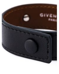 Givenchy - Black Paris Bracelet - Lyst