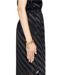 Ela Stone | Metallic Alexander Coin Charm Bracelet | Lyst