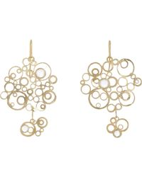Judy Geib | Metallic Moonstone & Gold Bubbly Earrings | Lyst