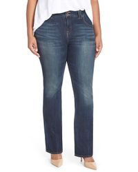 Lucky Brand - Blue 'emma' Stretch Bootcut Jeans - Lyst