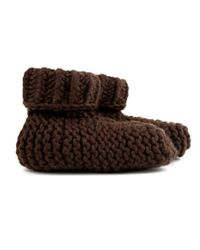Wool And The Gang | Brown Big Foot Socks | Lyst