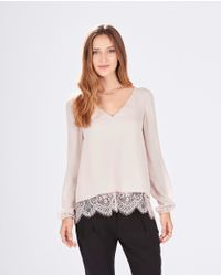 Parker | Gray Rosedale Combo Top | Lyst
