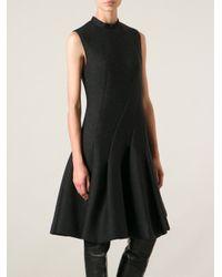 Lanvin Gray Full Dress
