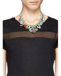 Venessa Arizaga - Green 'travel Bag' Necklace - Lyst
