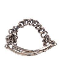 Tobias Wistisen Metallic Chunky Chain Bracelet for men