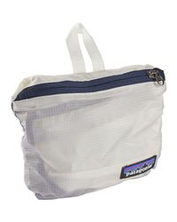 Patagonia White Lightweight Travel 15l Courier Bag