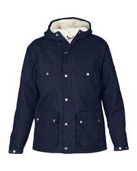 Fjallraven Blue Greenland Winter Jacket for men