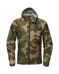 The North Face - Green Flyweight Hooded Jacket for Men - Lyst