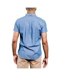 United By Blue Blue Wenlock Chambray Shirt - Short-sleeve for men