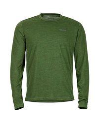 Marmot Green Saxon Shirt - Long-sleeve for men